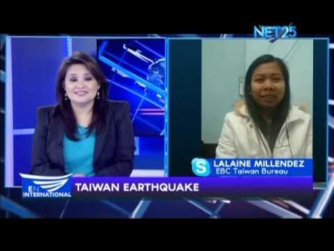 Eagle News Kaohsiung correspondent recounts Taiwan quake experience