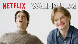 The Norse Mythology Game wth David Stakston and Herman Tømmeraas | Netflix