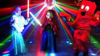Kids Halloween Disco Party  |  Хэллоуин Вечеринка  |  Детская Дискотека!