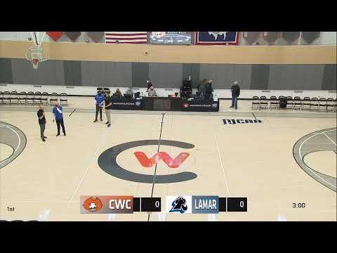 Central Wyoming College  Vs.  Lamar  CC  (Men's Basketball)