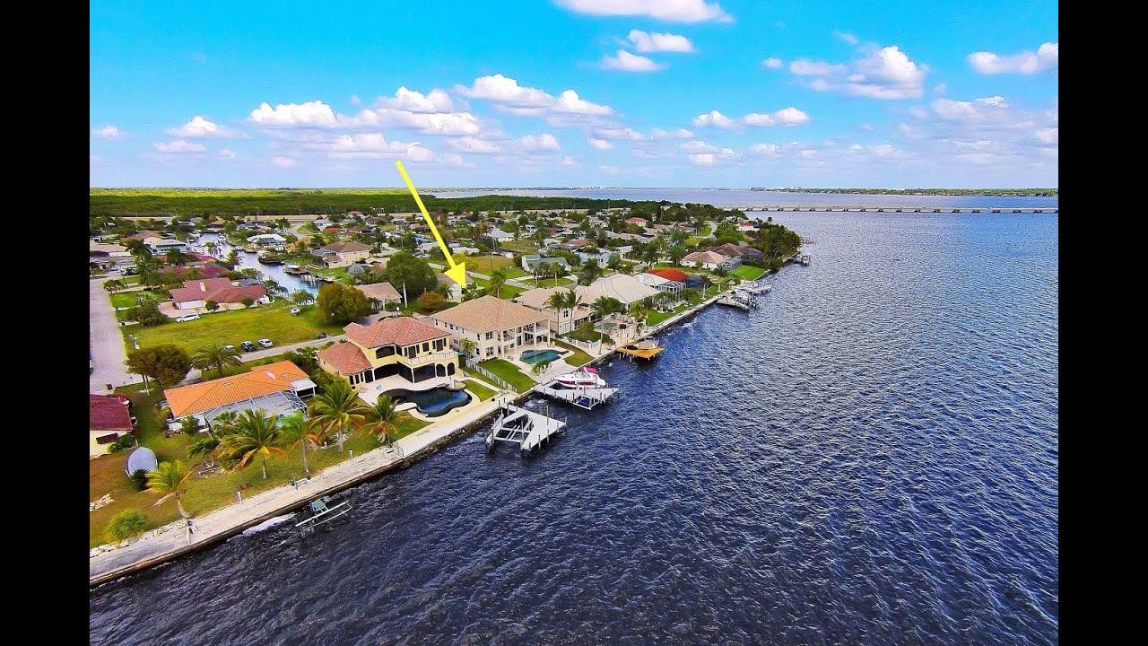 1 735 000 brilliant luxury riverfront estate in cape coral fl rh youtube com