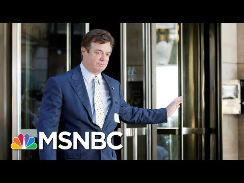 Fmr. Trump Campaign Chairman Paul Manafort Enters Not Guilty Plea On Tax, Bank Fraud Charges | MSNBC