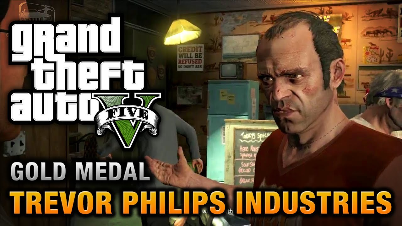 Gta  Trevor Philips Industries  Gold Medal Walkthrough Youtube
