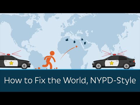 How to Fix the World, NYPD-Style