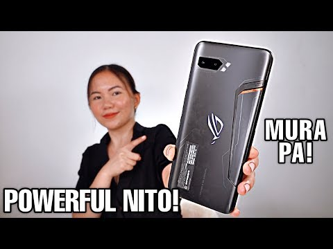 ASUS ROG PHONE 2 UNBOXING & REVIEW (1TB): NASAYO NA ANG LAHAT!
