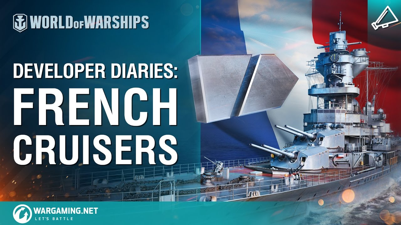 World of Warships – Developer Diaries: French cruisers