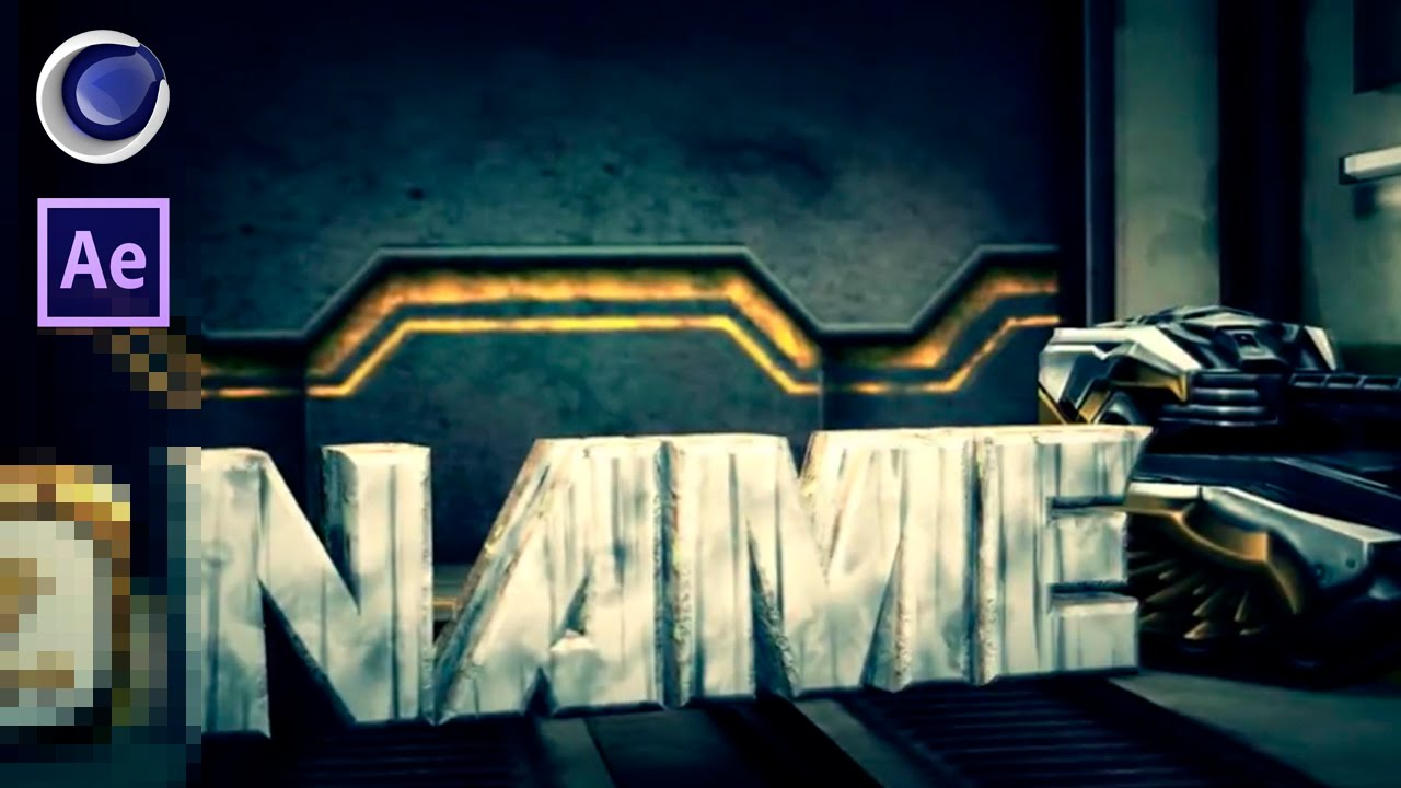 FREE 3D NEW Tanki Online Intro After Effects & Cinema 4D Intro ...