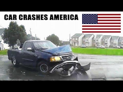 CAR CRASHES IN AMERICA #24 BAD DRIVERS USA, CANADA