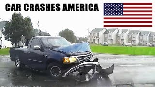 CAR CRASHES IN AMERICA #24 BAD DRIVERS USA, CANADA
