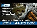 Part 3 How To Install Replace Timing Chain Tensioner and guides 4.6L Ford V8