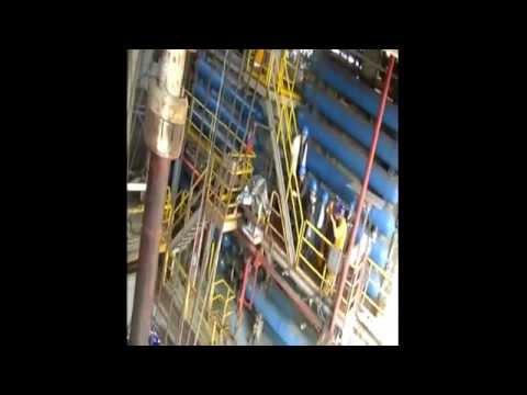 Cyprus President Visits  Noble Energy Drilling Platform