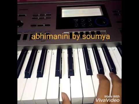 Abhimanini odia song piano tutorial