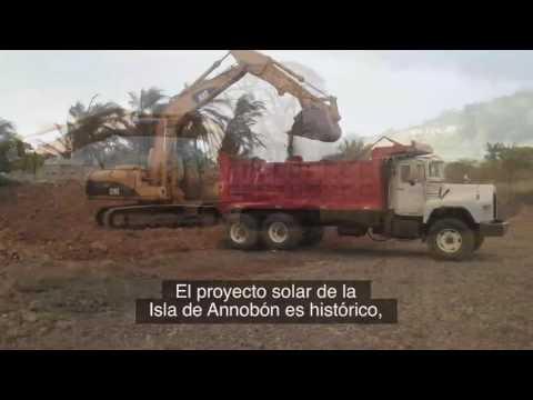 Equatorial Guinea - Annobon Island Solar Electrification Project