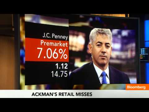 Bill Ackman's Big Loss on J.C. Penney: Will He Hold On?