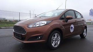 2015 Ford Fiesta. Обзор (интерьер, экстерьер, двигатель).