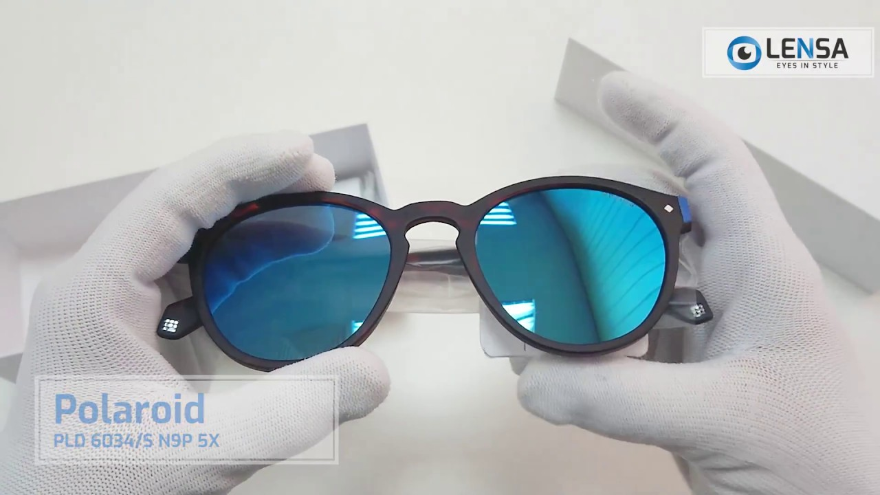 eec5f6db755 Unboxing ochelari de soare unisex Polaroid PLD 6034 S N9P 5X – LENSA ...