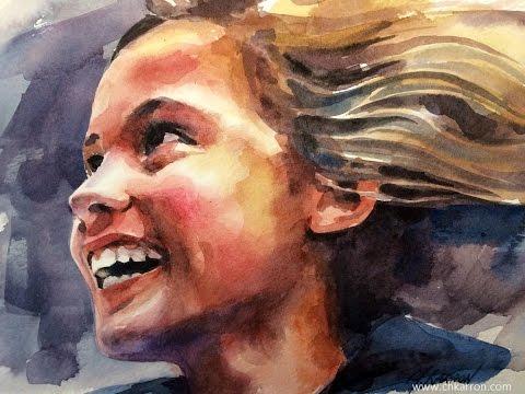 watercolor-portrait-time-lapse-speed-paint-by-ch.karron