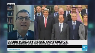 Paris mideast peace conference   the two states solution is the way forward
