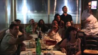 Sebastiano Cossu ed altri amici cantano Spunta La Luna Dal Monte Tazenda