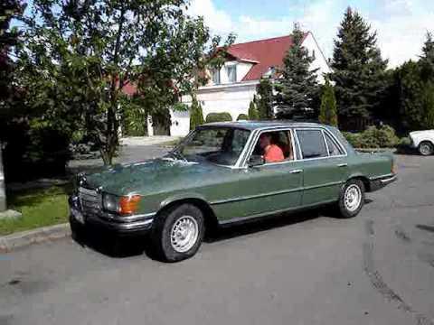 1978 Mercedes Benz 280se W116 Youtube