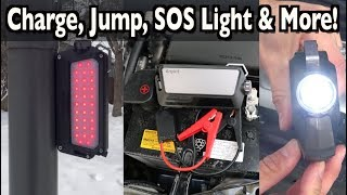 All-In-One Jump Starter & Power Bank on Everyman Driver