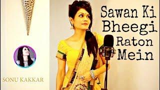 Sawan Ki Bheegi Raton Mein | With Lyrics | Sonu Kakkar | NFAK | LyRiCaLs MuSiCs