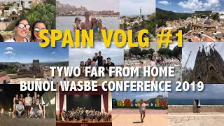 Spain Vlog Pt. 1: TYWO Far From Home (WASBE Conference 2019 - Buñol)