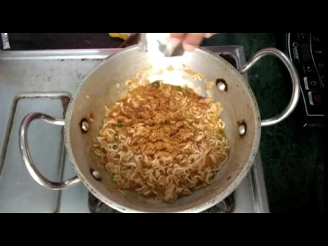 How To Make Spicy Masala Maggi   Street Style Maggi   Easy Chef
