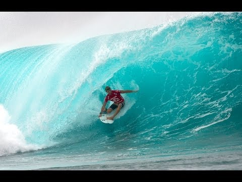Heat Highlights- John John Florence Perfect 10 at Restaurants, Tavarua: Volcom Fiji Pro