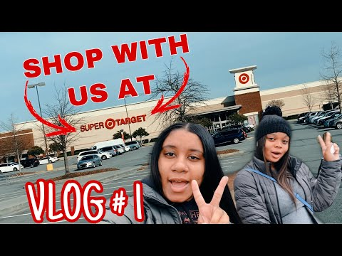 JESS AND ARIE: VLOG 01- COME WITH US TO TARGET