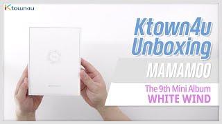 Unboxing MAMAMOO 9th mini album