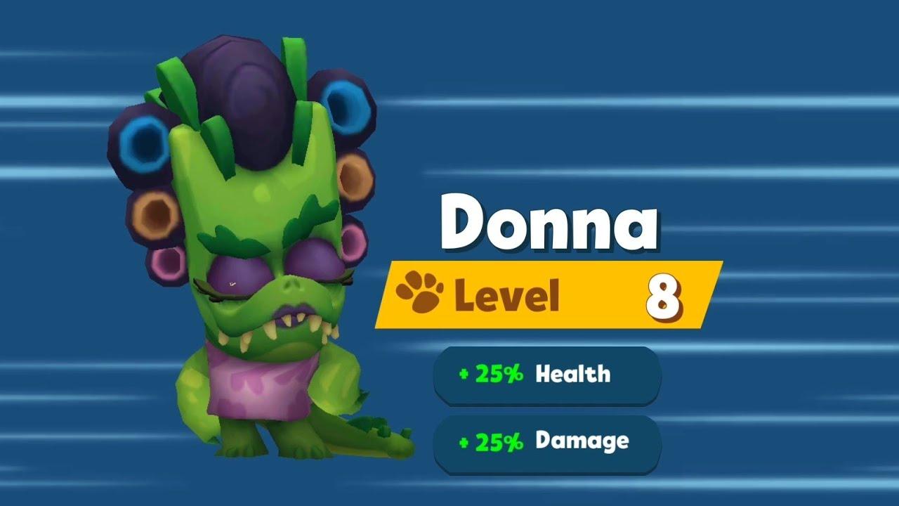 Tankiest Donna @ Level 8    Buck & Fuzzy    Zooba