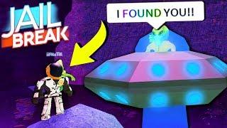 FIND THE ALIEN HIDE N SEEK!! (Roblox Jailbreak Update)