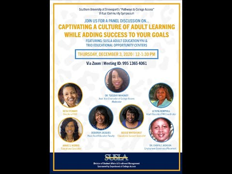 Southern University at Shreveport- Adult Education/YNI & EOC Forum