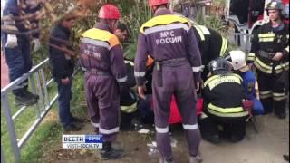 Первые кадры с места падения вертолета в Сочи(http://vesti-sochi.tv., 2016-11-01T12:36:23.000Z)