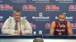 POST-GAME: Frank Martin, Frank Booker on Ole Miss — 12/31/17