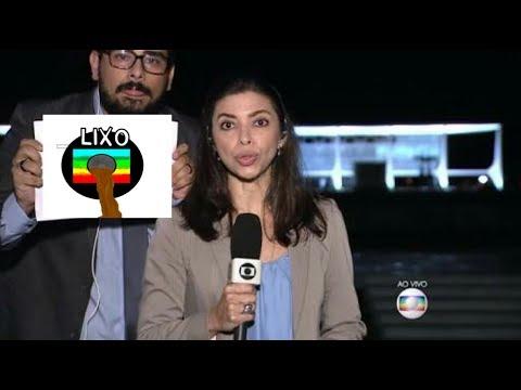 Repórter da Globo defende bandidos na frente de um MILITAR que DETONA!!!