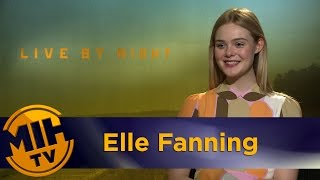 Elle Fanning Interivew Live by Night