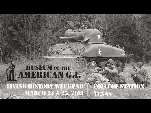 Museum Of The American G.I. | Living History Weekend 2018