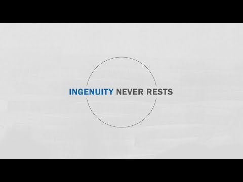 Ingenuity Never Rests