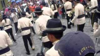 banda musical inst. catolico santa rosa (Santa Rosa de Copan, Honduras) parque central la libertad