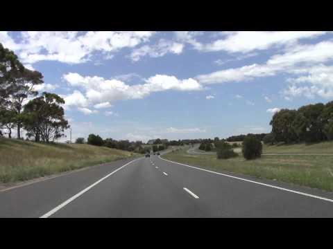 Ballarat  Road Trip Melbourne Bound pt 1