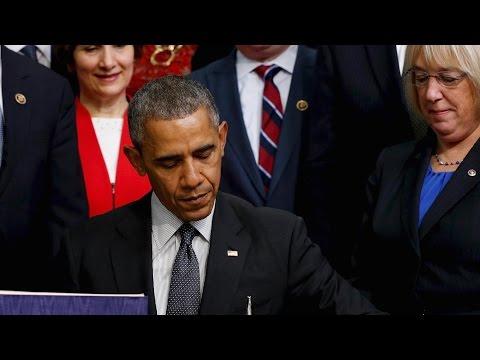 Obama addresses climate change agreement