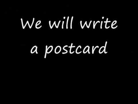 Weezer-Holiday (Lyrics)