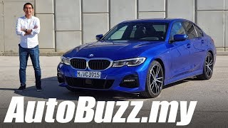 2019 BMW 330i G20 3-Series First Drive in Faro, Portugal - AutoBuzz.my