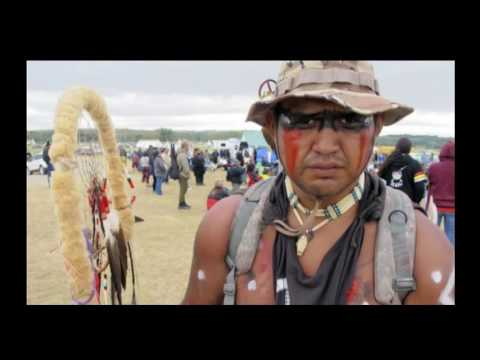 Standing Rock Sioux Tribe in War with Oppressor