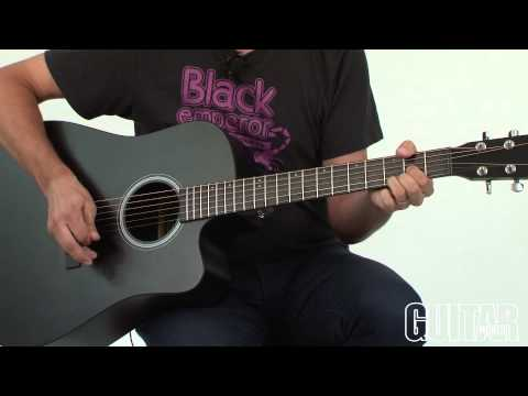 Martin Performing Artist Series DCPA5 Black and OMCPA5 Black Acoustic-Electric Guitars