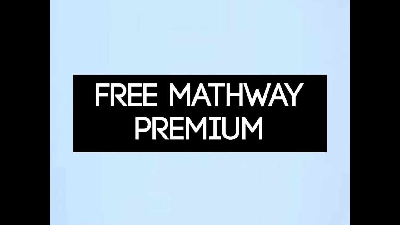 Sep 01,  · YouTube Premium Loading Get YouTube without the ads. Find out why Close. FREE ALTERNATIVE TO bauernhoftester.ml (Free Mathway Premium) Muaaz. Loading Unsubscribe from Muaaz? Cancel.