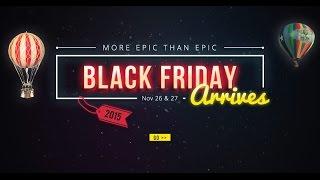 Чорна п'ятниця і Кібер понеділок на сайті GearBest
