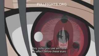 Itachi vs Orochimaru - Full Fight (English Sub)